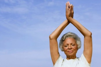 Yoga for Seniors with Insomnia: Thumbs Up