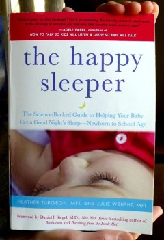 Babies sleep better when they feel securely attached and structure is built into their lives