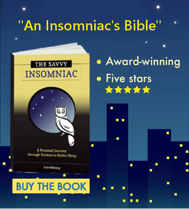 The Savvy Insomniac - Award Winning - Five Stars - Buy the Book