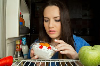 People with night eating syndrome often have disrupted sleep