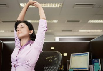 Daytime affects of insomnia can be reduced by stretching and other activities